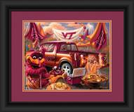 Virginia Tech Hokies Tailgate Framed Print