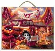 Virginia Tech Hokies Tailgate Plaque
