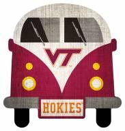 Virginia Tech Hokies Team Bus Sign