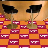 Virginia Tech Hokies Team Carpet Tiles