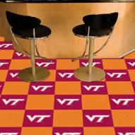 Virginia Tech Hokies Team Carpet Tiles