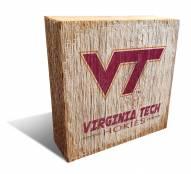 Virginia Tech Hokies Team Logo Block