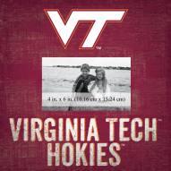 """Virginia Tech Hokies Team Name 10"""" x 10"""" Picture Frame"""