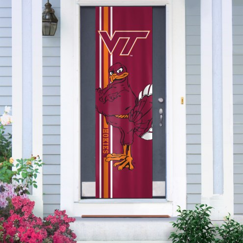 Virginia Tech Hokies Door Banner