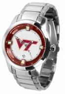 Virginia Tech Hokies Titan Steel Men's Watch