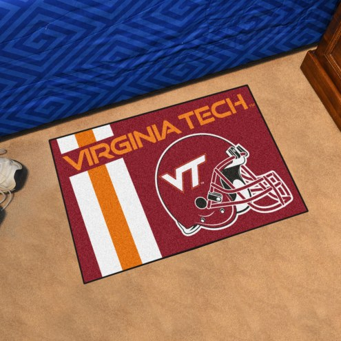 Virginia Tech Hokies Uniform Inspired Starter Rug