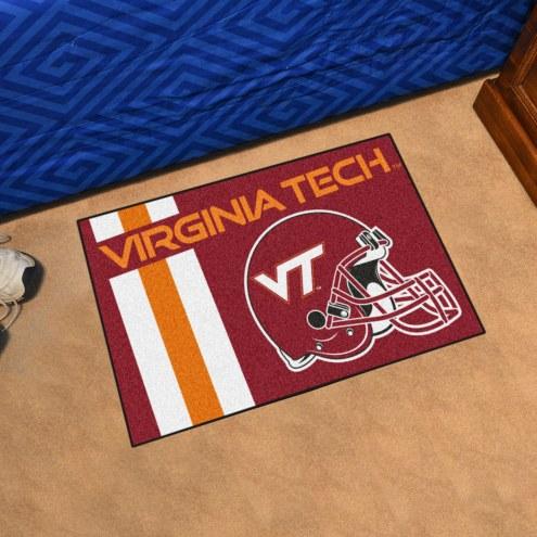 Virginia Tech Hokies Uniform Inspired Starter Rug