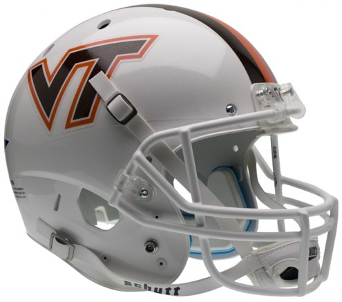 Virginia Tech Hokies White Schutt XP Collectible Full Size Football Helmet