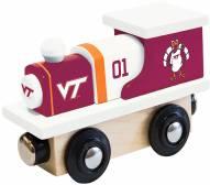 Virginia Tech Hokies Wood Toy Train