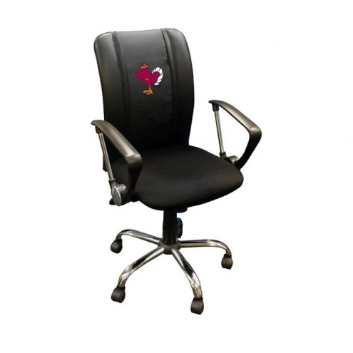 Virginia Tech Hokies XZipit Curve Desk Chair with Stand Logo