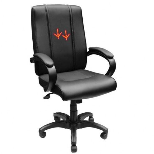 Virginia Tech Hokies XZipit Office Chair 1000 with Feet Logo