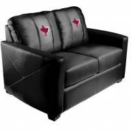 Virginia Tech Hokies XZipit Silver Loveseat with Stand Logo