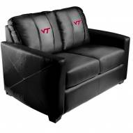 Virginia Tech Hokies XZipit Silver Loveseat