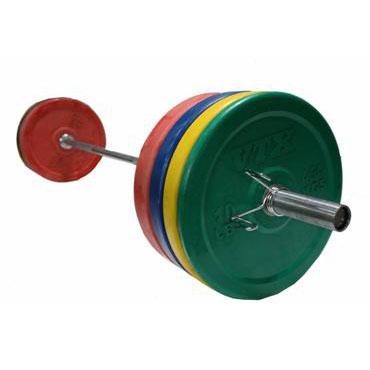 VTX 275lb Colored Bumper Weight Set