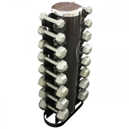 VTX Horizontal 8 pair dumbbell rack with IHD's