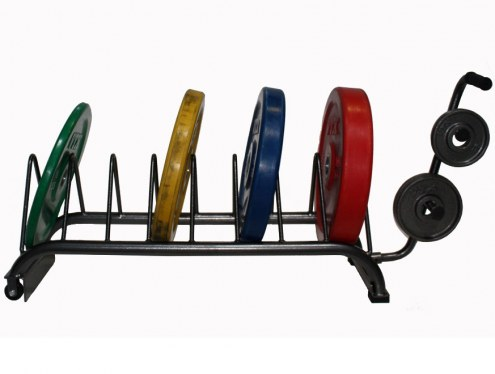 VTX Horizontal Bumper Plate Rack Set