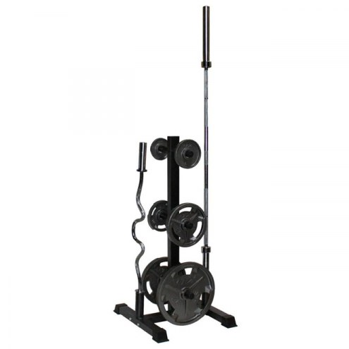 VTX Vertical Olympic Bar and Plate Rack Set - 430V
