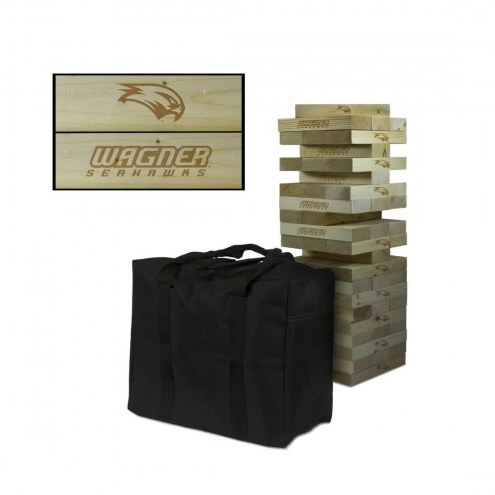 Wagner Seahawks Giant Wooden Tumble Tower Game