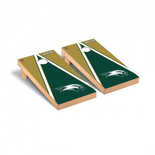 Wagner Seahawks Triangle Cornhole Game Set