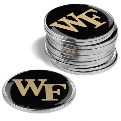 Wake Forest Demon Deacons 12-Pack Golf Ball Markers