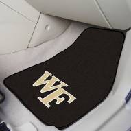 Wake Forest Demon Deacons 2-Piece Carpet Car Mats