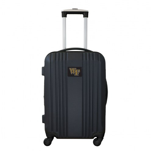 """Wake Forest Demon Deacons 21"""" Hardcase Luggage Carry-on Spinner"""