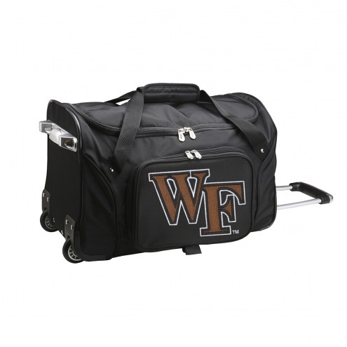 """Wake Forest Demon Deacons 22"""" Rolling Duffle Bag"""