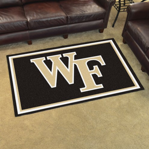 Wake Forest Demon Deacons 4' x 6' Area Rug