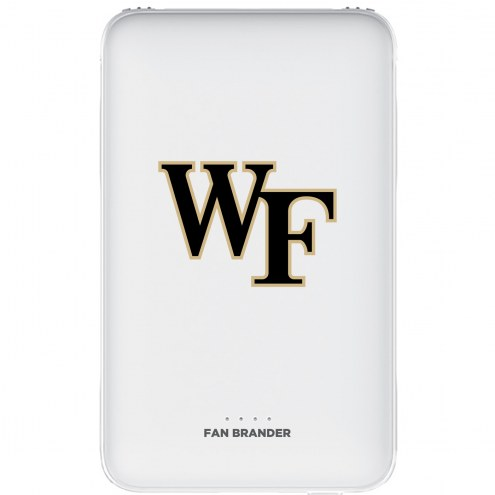 Wake Forest Demon Deacons 5,000 mAh Portable Power Bank