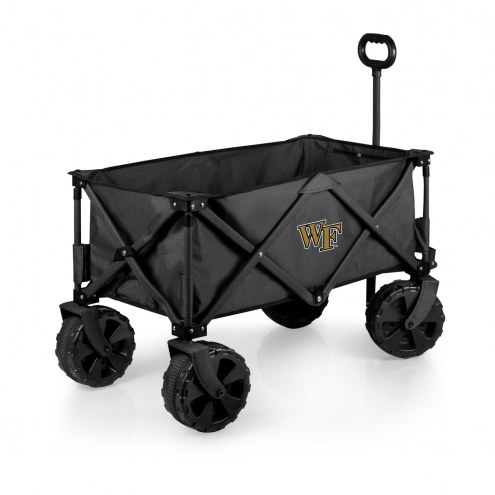 Wake Forest Demon Deacons Adventure Wagon with All-Terrain Wheels
