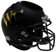 Wake Forest Demon Deacons Alternate 3 Schutt Football Helmet Desk Caddy