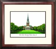 Wake Forest Demon Deacons Alumnus Framed Lithograph
