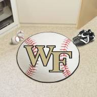 Wake Forest Demon Deacons Baseball Rug