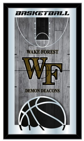 Wake Forest Demon Deacons Basketball Mirror
