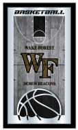 Wake Forest Demon Deacons Basketball Mirror