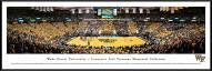 Wake Forest Demon Deacons Basketball Standard Framed Panorama