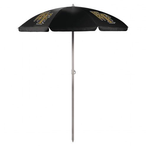 Wake Forest Demon Deacons Beach Umbrella