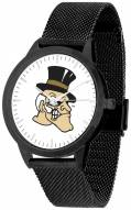 Wake Forest Demon Deacons Black Mesh Statement Watch