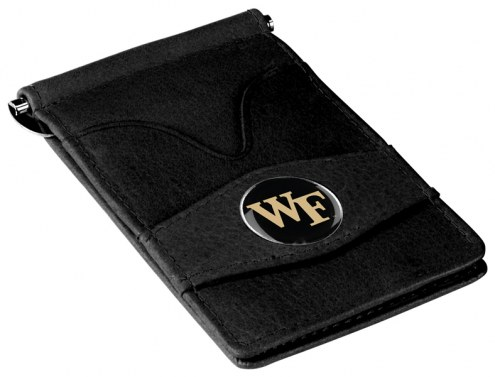 Wake Forest Demon Deacons Black Player's Wallet