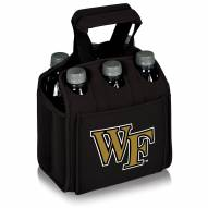 Wake Forest Demon Deacons Black Six Pack Cooler Tote