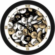 Wake Forest Demon Deacons Candy Wall Clock