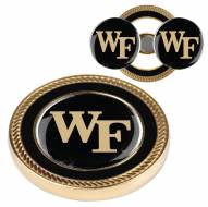 Wake Forest Demon Deacons Challenge Coin with 2 Ball Markers
