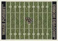 Wake Forest Demon Deacons College Home Field Area Rug