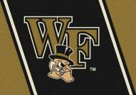 Wake Forest Demon Deacons College Team Spirit Area Rug