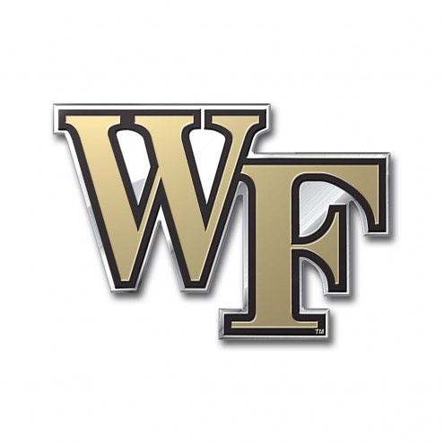 Wake Forest Demon Deacons Color Car Emblem