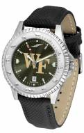 Wake Forest Demon Deacons Competitor AnoChrome Men's Watch