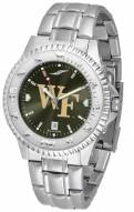 Wake Forest Demon Deacons Competitor Steel AnoChrome Men's Watch
