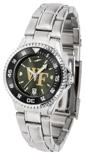 Wake Forest Demon Deacons Competitor Steel AnoChrome Women's Watch - Color Bezel