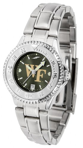 Wake Forest Demon Deacons Competitor Steel AnoChrome Women's Watch