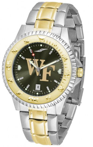 Wake Forest Demon Deacons Competitor Two-Tone AnoChrome Men's Watch